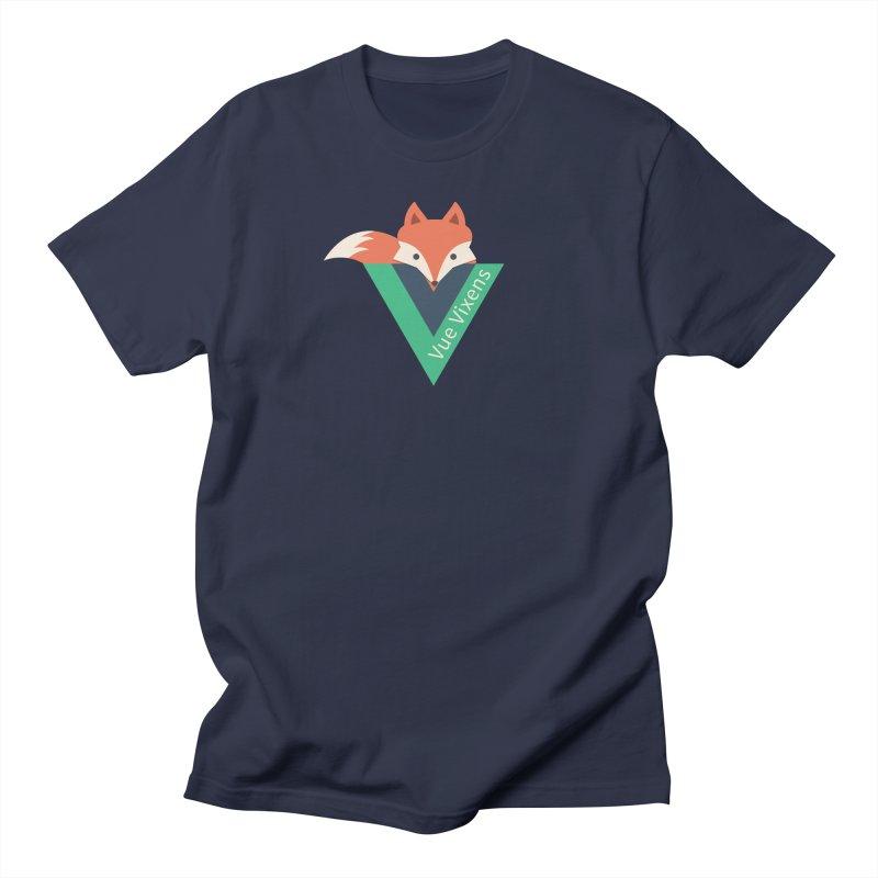 logo Men's Regular T-Shirt by Vue Vixens Shop