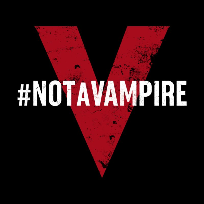 Not A Vampire (Apparel) Men's Longsleeve T-Shirt by V WARS
