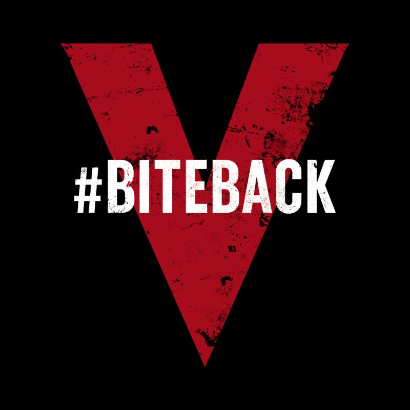 Bite Back (Apparel) Men's T-Shirt by V WARS