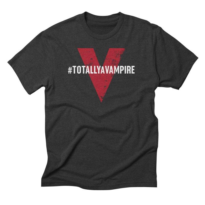 Totally A Vampire (Apparel) Men's T-Shirt by V WARS