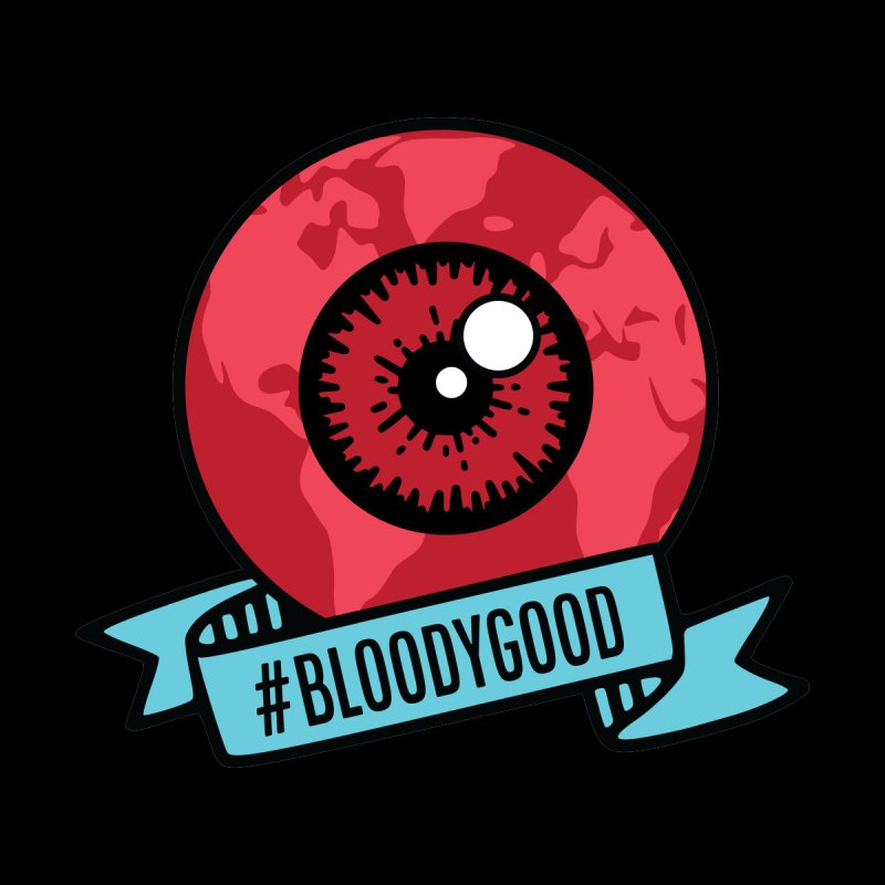 Bloody Good (Stickers, Magnets, Tote Bags) Accessories Sticker by V WARS