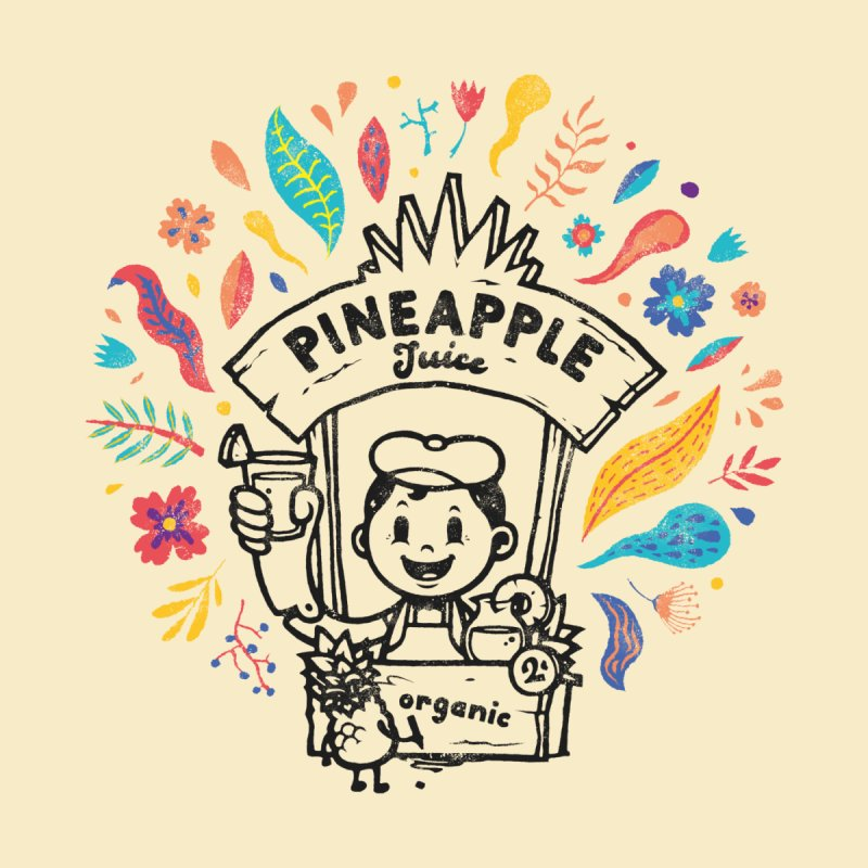 Organic Pineapple Juice Women's T-Shirt by VYZOR