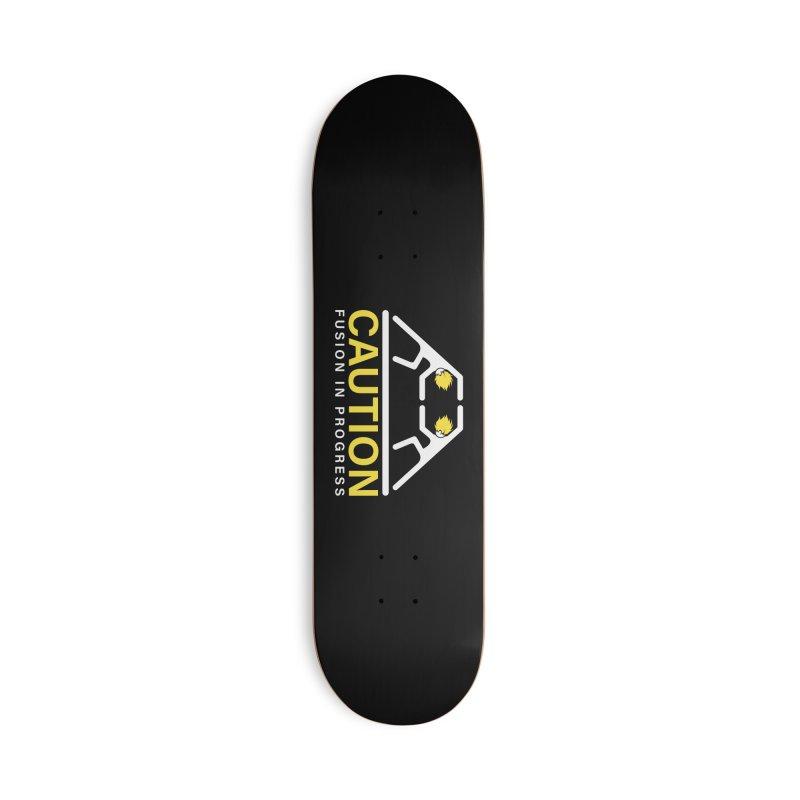 Fusion in Progress Accessories Skateboard by Wood-Man's Artist Shop