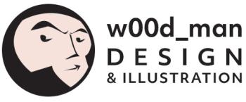 Wood-Man's Artist Shop Logo