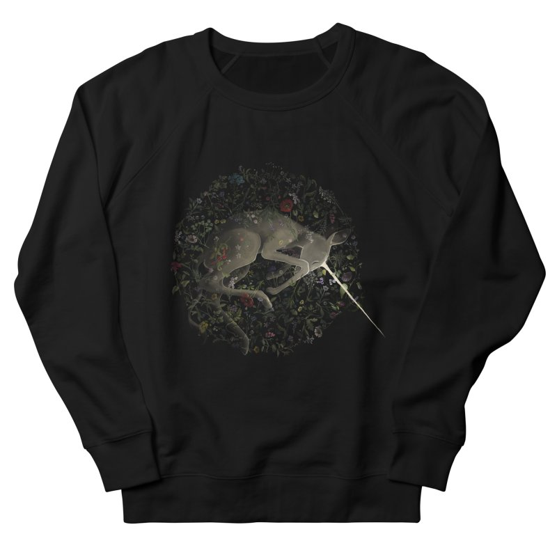 amniotic unicorn Men's Sweatshirt by wabisabi's shop