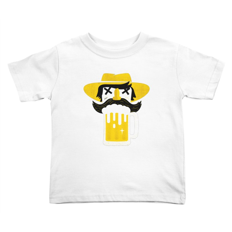 BEERMAN Kids Toddler T-Shirt by Rocket Artist Shop