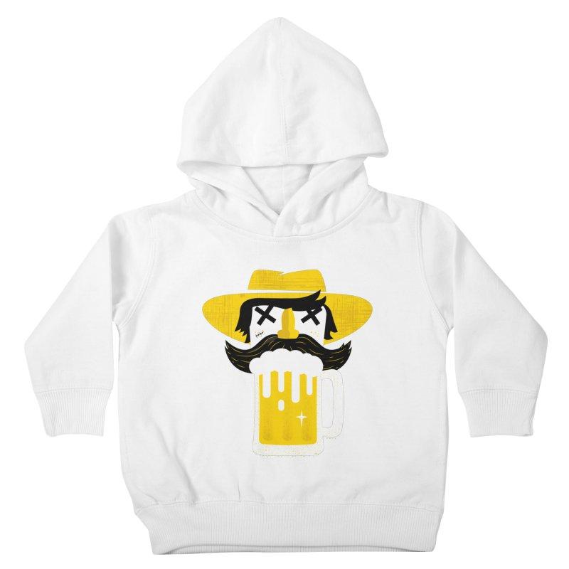 BEERMAN Kids Toddler Pullover Hoody by Rocket Artist Shop