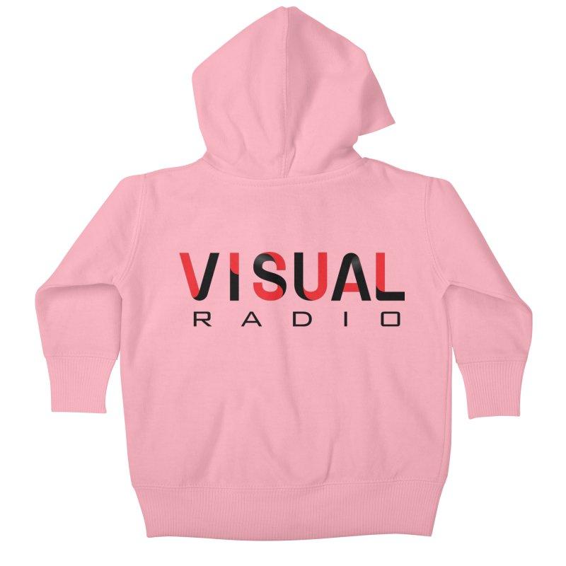 Visual Radio - NEW ITEM Kids Baby Zip-Up Hoody by WACK 90.1fm Merchandise Store