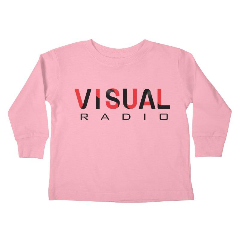 Visual Radio - NEW ITEM Kids Toddler Longsleeve T-Shirt by WACK 90.1fm Merchandise Store