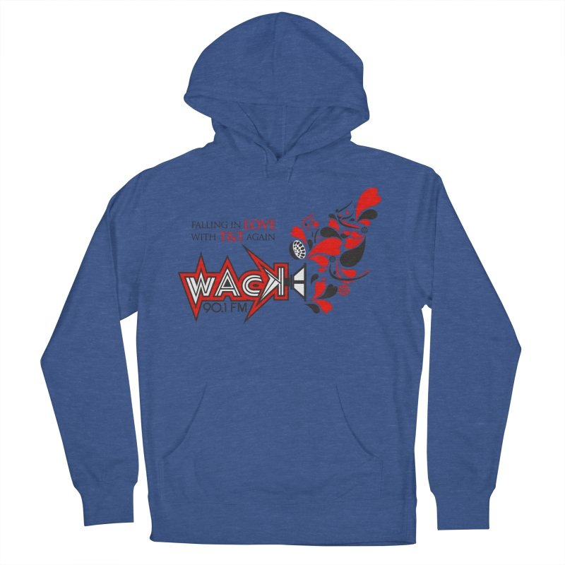 WACK Carnival 2018 Logo Women's French Terry Pullover Hoody by WACK 90.1fm Merchandise Store