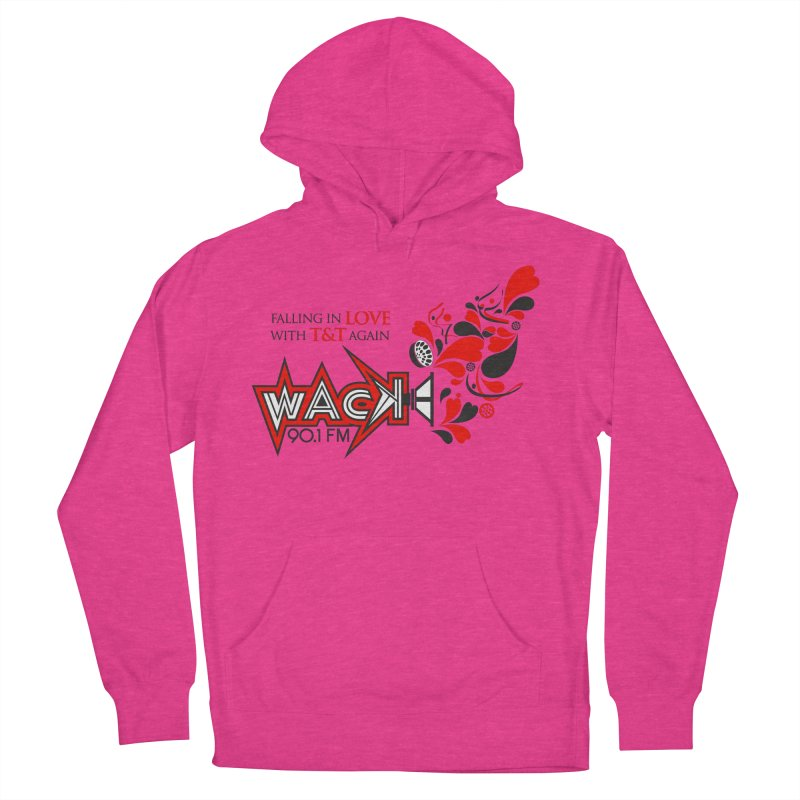 WACK Carnival 2018 Logo Women's French Terry Pullover Hoody by WACK 90.1fm Merchandise Store