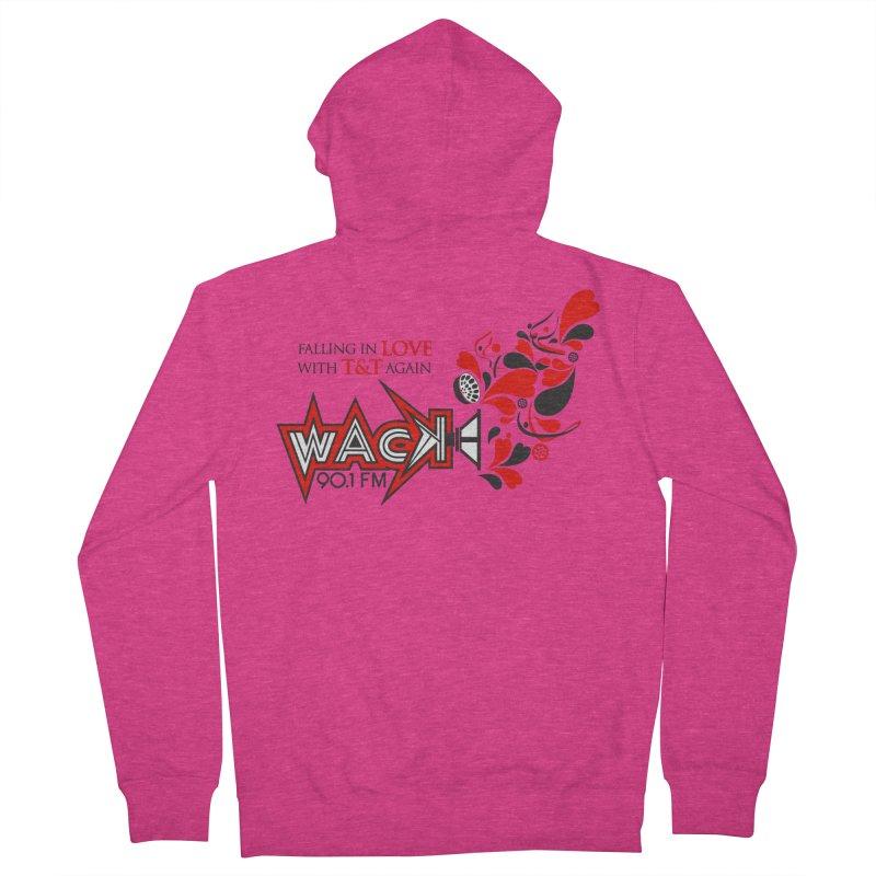 WACK Carnival 2018 Logo Women's French Terry Zip-Up Hoody by WACK 90.1fm Merchandise Store