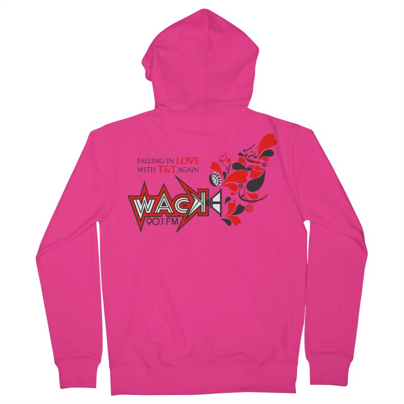 WACK Carnival 2018 Logo Men's French Terry Zip-Up Hoody by WACK 90.1fm Merchandise Store