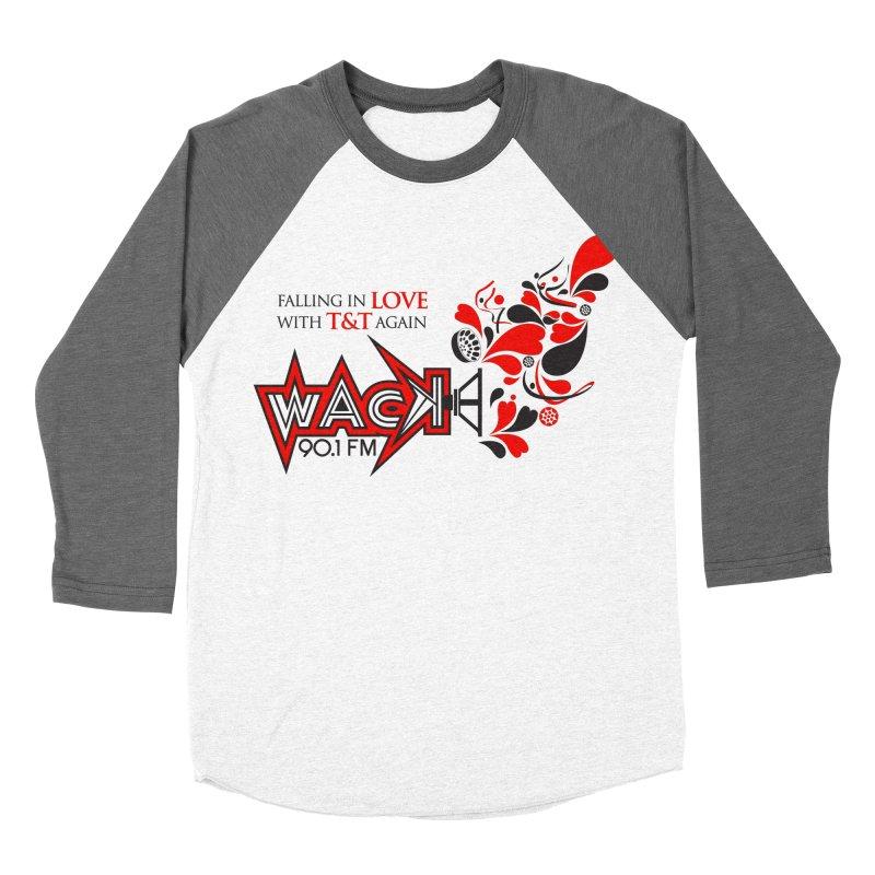 WACK Carnival 2018 Logo Women's Baseball Triblend T-Shirt by WACK 90.1fm Merchandise Store
