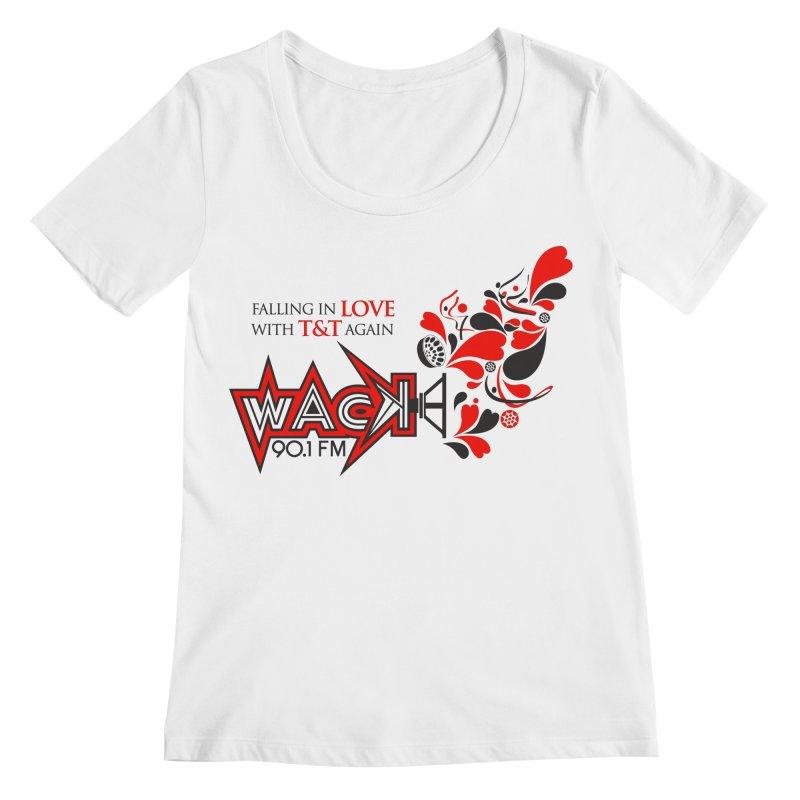 WACK Carnival 2018 Logo Women's Regular Scoop Neck by WACK 90.1fm Merchandise Store