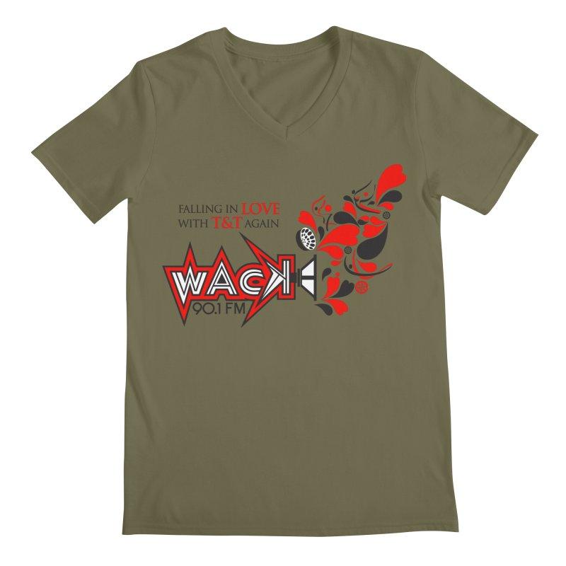 WACK Carnival 2018 Logo Men's Regular V-Neck by WACK 90.1fm Merchandise Store