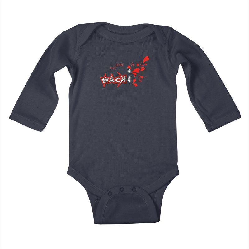 WACK Products Kids Baby Longsleeve Bodysuit by WACK 90.1fm Merchandise Store