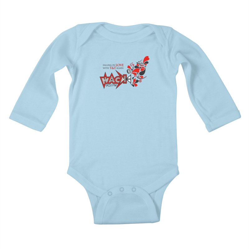 WACK Carnival 2018 Logo Kids Baby Longsleeve Bodysuit by WACK 90.1fm Merchandise Store