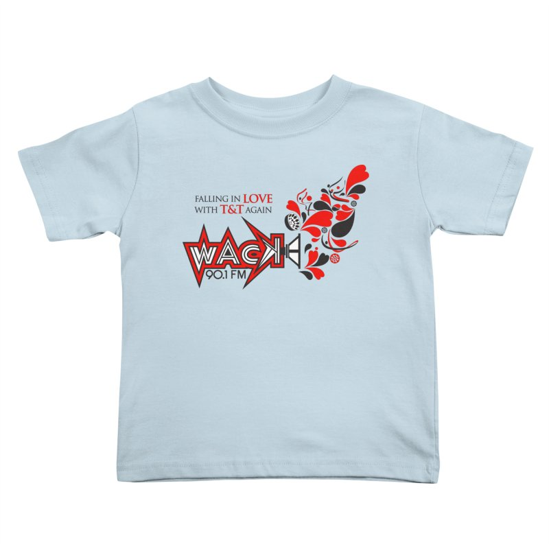 WACK Carnival 2018 Logo Kids Toddler T-Shirt by WACK 90.1fm Merchandise Store