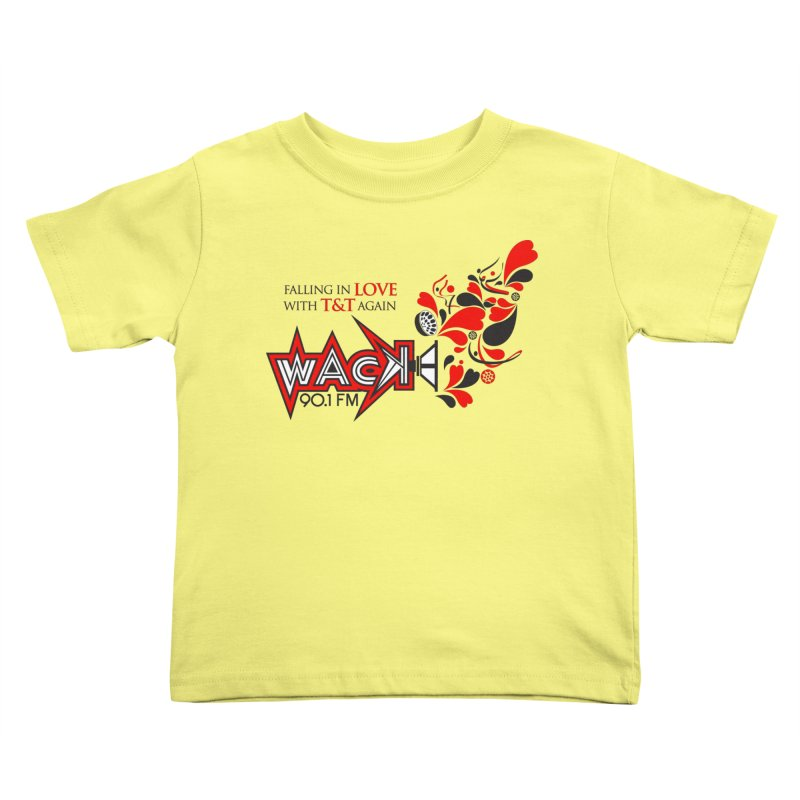 WACK Carnival 2018 Logo Kids Toddler T-Shirt by WACK 90.1fm Merchandise Store