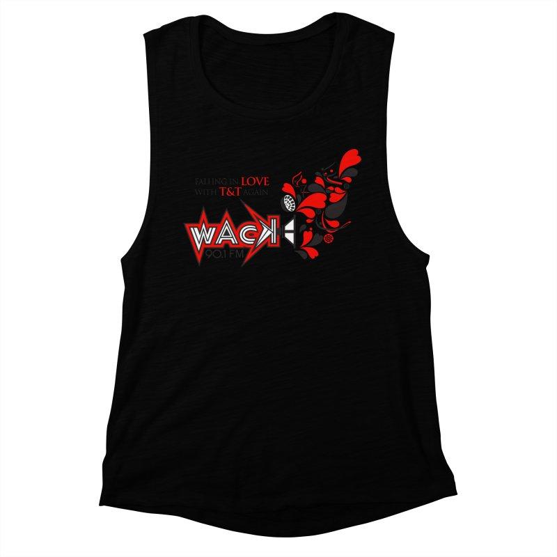 WACK Carnival 2018 Logo Women's Muscle Tank by WACK 90.1fm Merchandise Store
