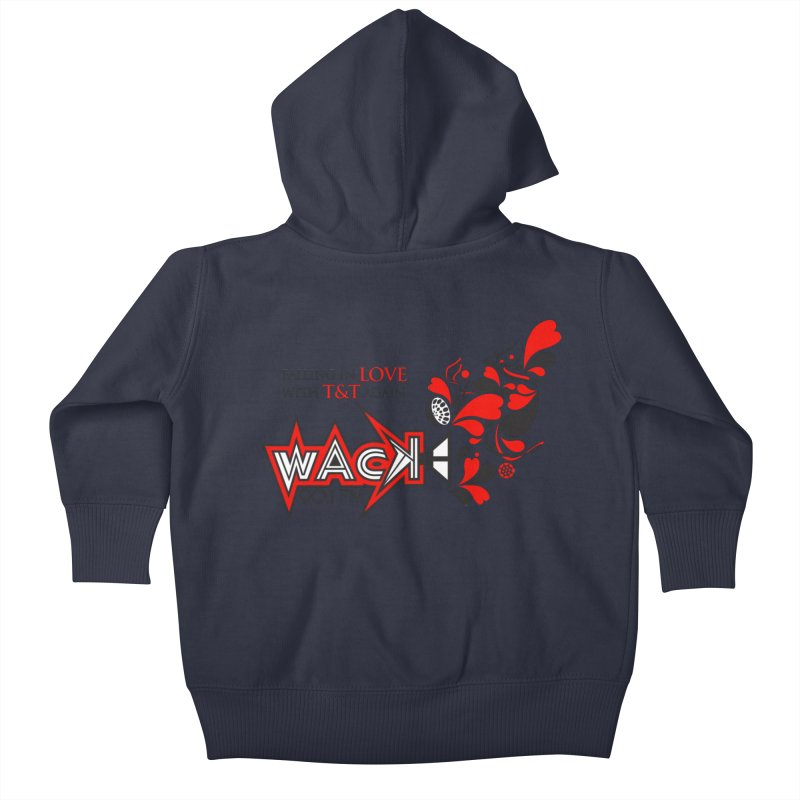 WACK Carnival 2018 Logo Kids Baby Zip-Up Hoody by WACK 90.1fm Merchandise Store