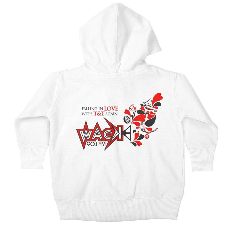 WACK Products Kids Baby Zip-Up Hoody by WACK 90.1fm Merchandise Store