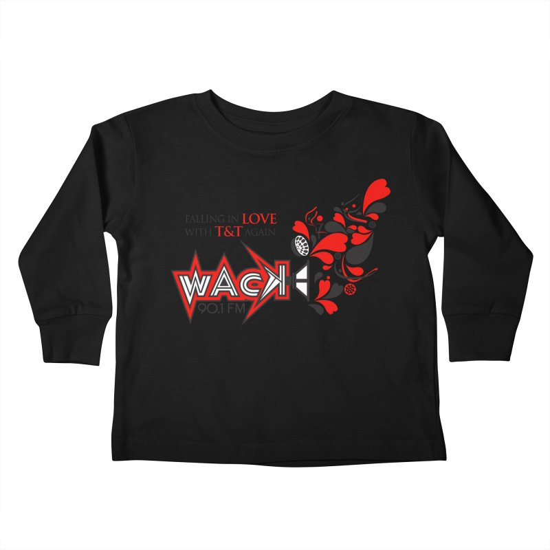 WACK Products Kids Toddler Longsleeve T-Shirt by WACK 90.1fm Merchandise Store
