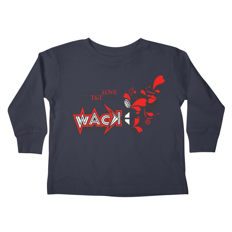 WACK Carnival 2018 Logo Kids Toddler Longsleeve T-Shirt by WACK 90.1fm Merchandise Store
