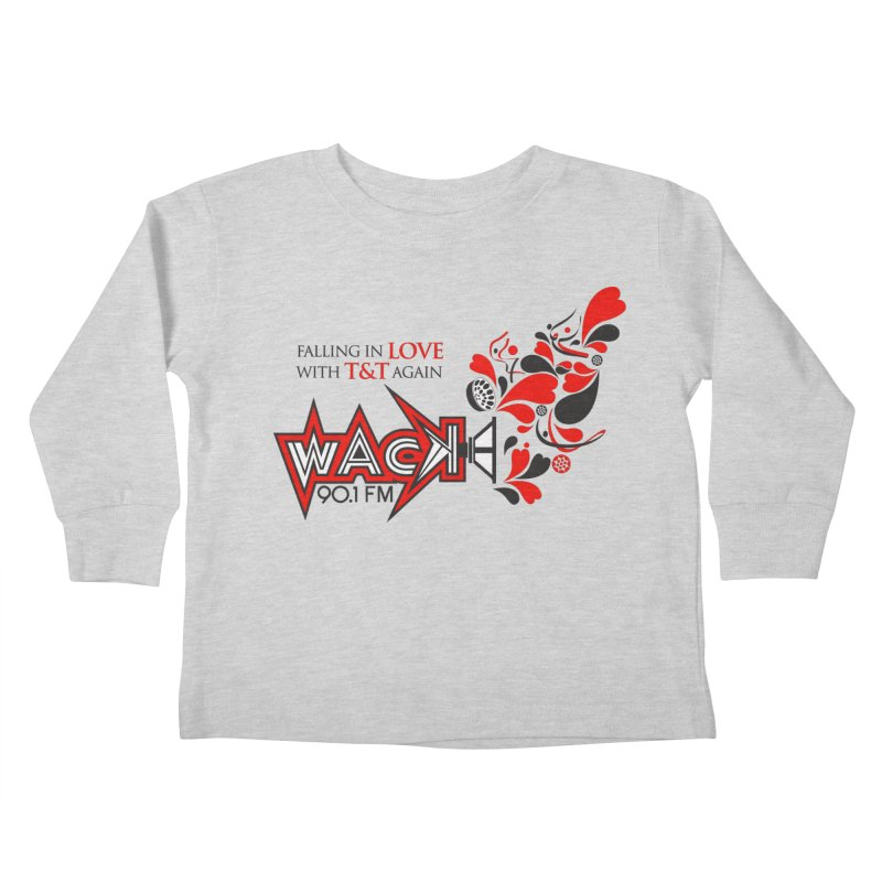 WACK Carnival 2018 Logo Kids Toddler Longsleeve T-Shirt by WACK 90.1fm Merchandise Store