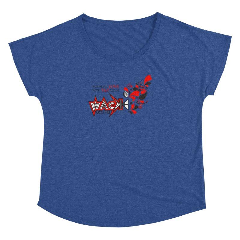 WACK Carnival 2018 Logo Women's Dolman Scoop Neck by WACK 90.1fm Merchandise Store