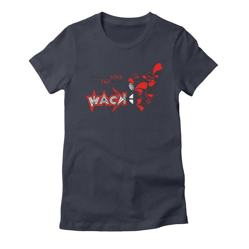 WACK Carnival 2018 Logo Women's Fitted T-Shirt by WACK 90.1fm Merchandise Store