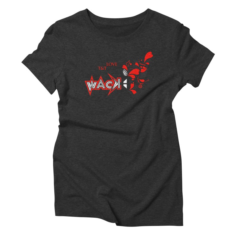 WACK Carnival 2018 Logo Women's Triblend T-Shirt by WACK 90.1fm Merchandise Store