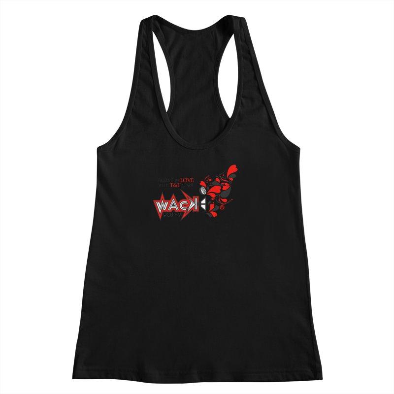 WACK Carnival 2018 Logo Women's Racerback Tank by WACK 90.1fm Merchandise Store