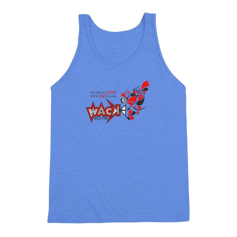 WACK Carnival 2018 Logo Men's Triblend Tank by WACK 90.1fm Merchandise Store