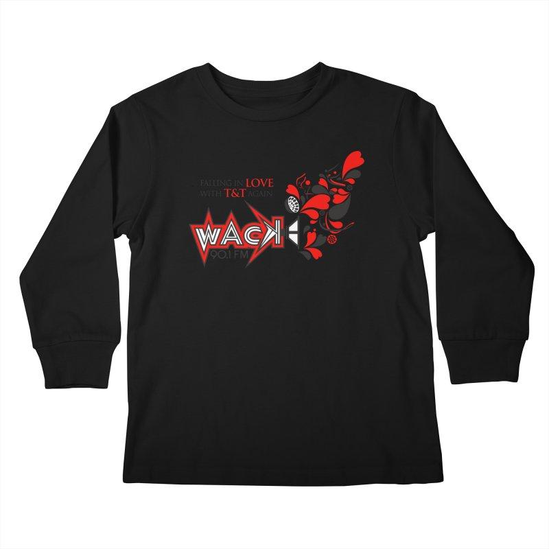 WACK Carnival 2018 Logo Kids Longsleeve T-Shirt by WACK 90.1fm Merchandise Store