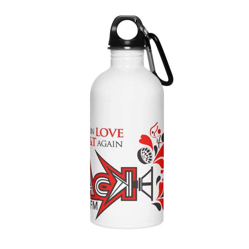 WACK Carnival 2018 Logo Accessories Water Bottle by WACK 90.1fm Merchandise Store