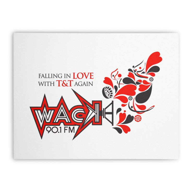 WACK Carnival 2018 Logo Home Stretched Canvas by WACK 90.1fm Merchandise Store