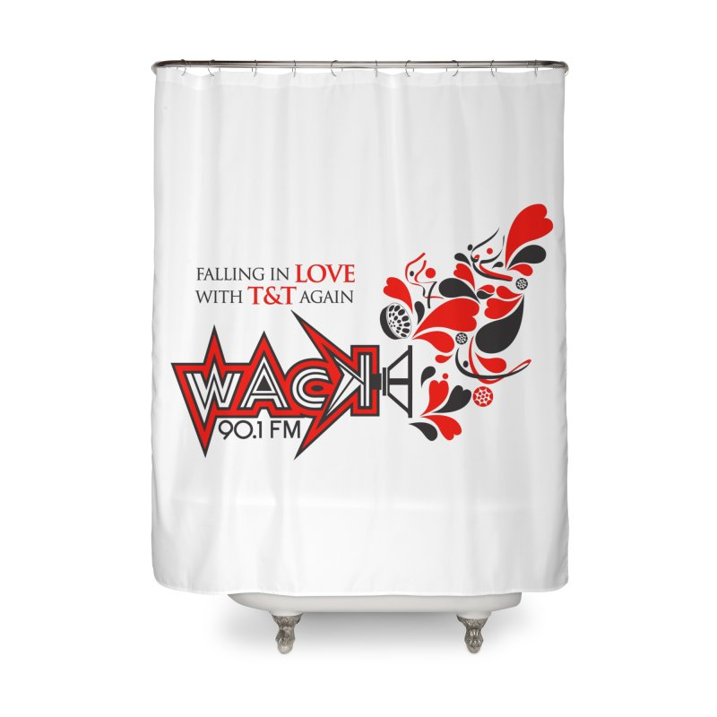 WACK Carnival 2018 Logo Home Shower Curtain by WACK 90.1fm Merchandise Store