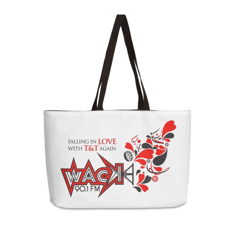 WACK Carnival 2018 Logo Accessories Weekender Bag Bag by WACK 90.1fm Merchandise Store