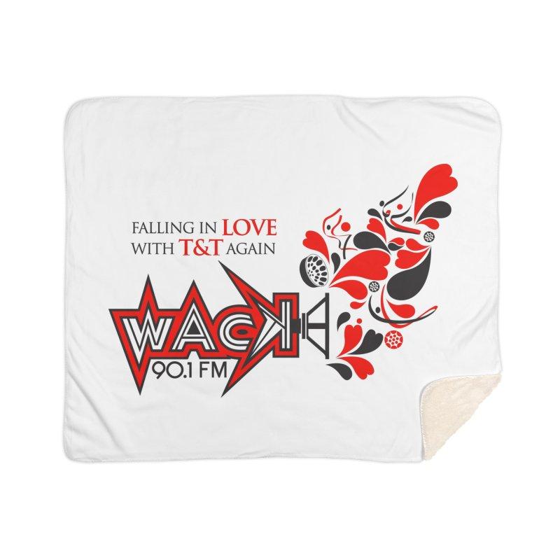 WACK Carnival 2018 Logo Home Sherpa Blanket Blanket by WACK 90.1fm Merchandise Store