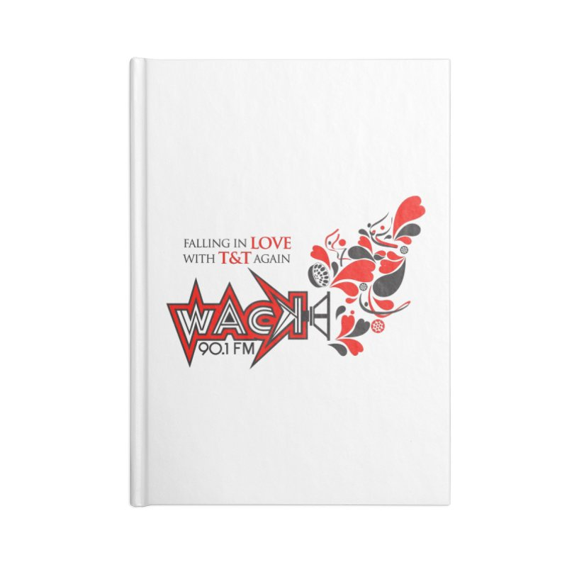 WACK Carnival 2018 Logo Accessories Lined Journal Notebook by WACK 90.1fm Merchandise Store
