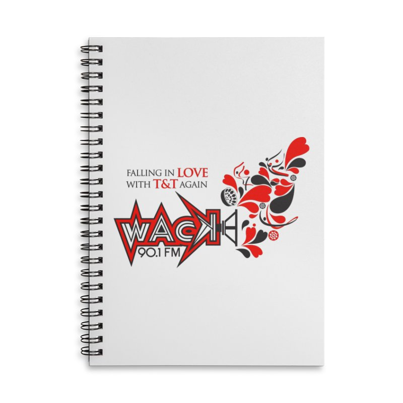 WACK Carnival 2018 Logo Accessories Lined Spiral Notebook by WACK 90.1fm Merchandise Store