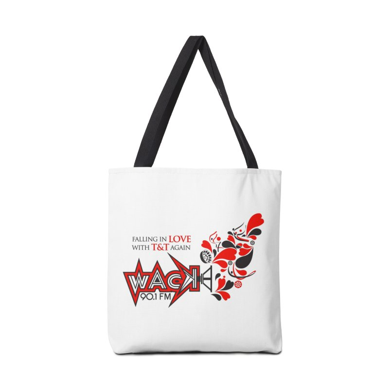 WACK Carnival 2018 Logo Accessories Tote Bag Bag by WACK 90.1fm Merchandise Store