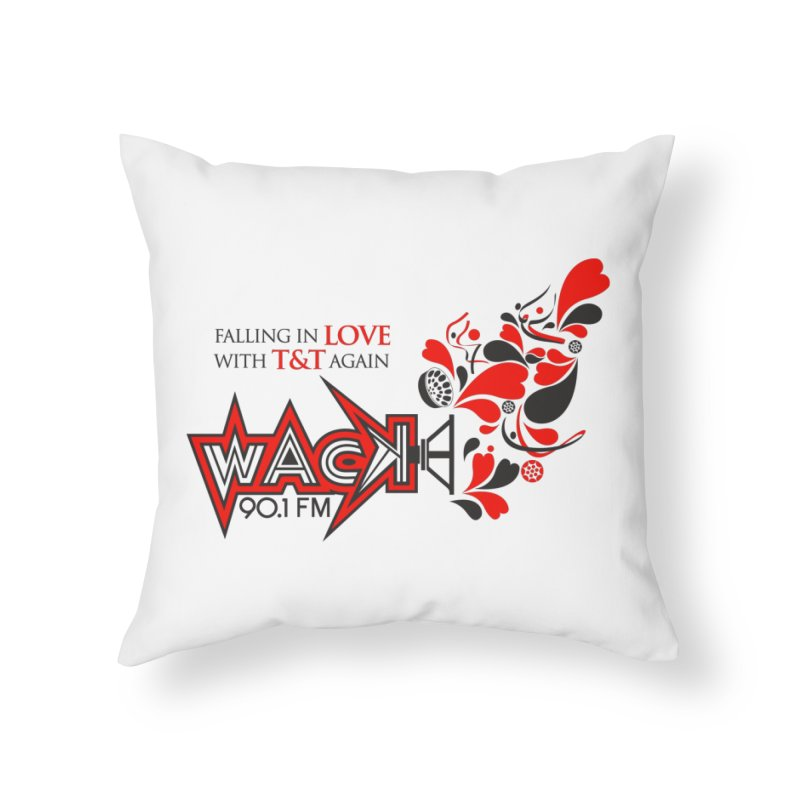 WACK Carnival 2018 Logo Home Throw Pillow by WACK 90.1fm Merchandise Store