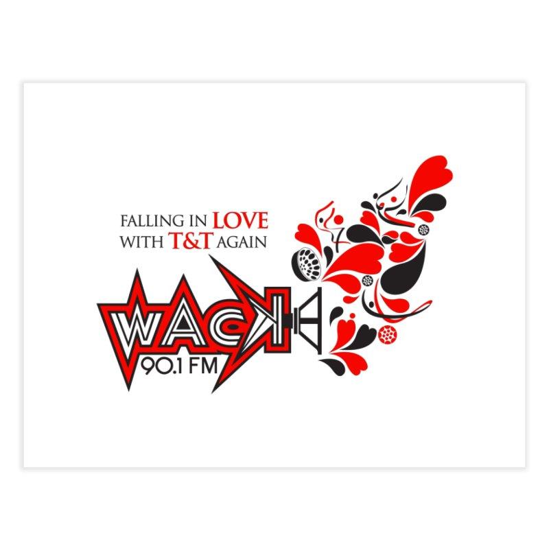 WACK Carnival 2018 Logo Home Fine Art Print by WACK 90.1fm Merchandise Store