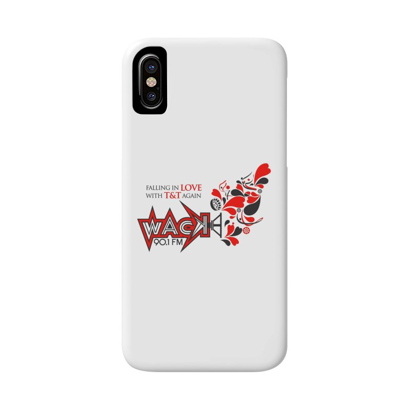 WACK Carnival 2018 Logo Accessories Phone Case by WACK 90.1fm Merchandise Store