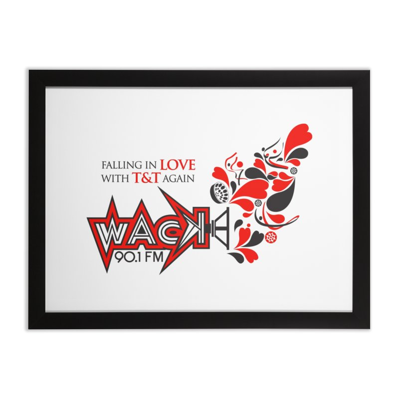 WACK Carnival 2018 Logo Home Framed Fine Art Print by WACK 90.1fm Merchandise Store