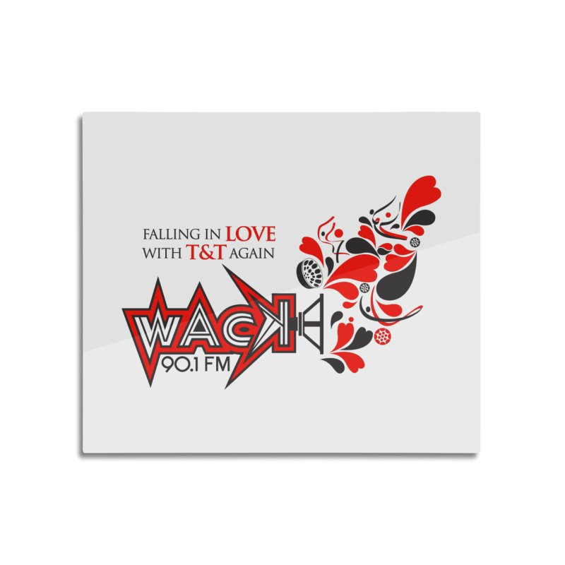 WACK Carnival 2018 Logo Home Mounted Aluminum Print by WACK 90.1fm Merchandise Store
