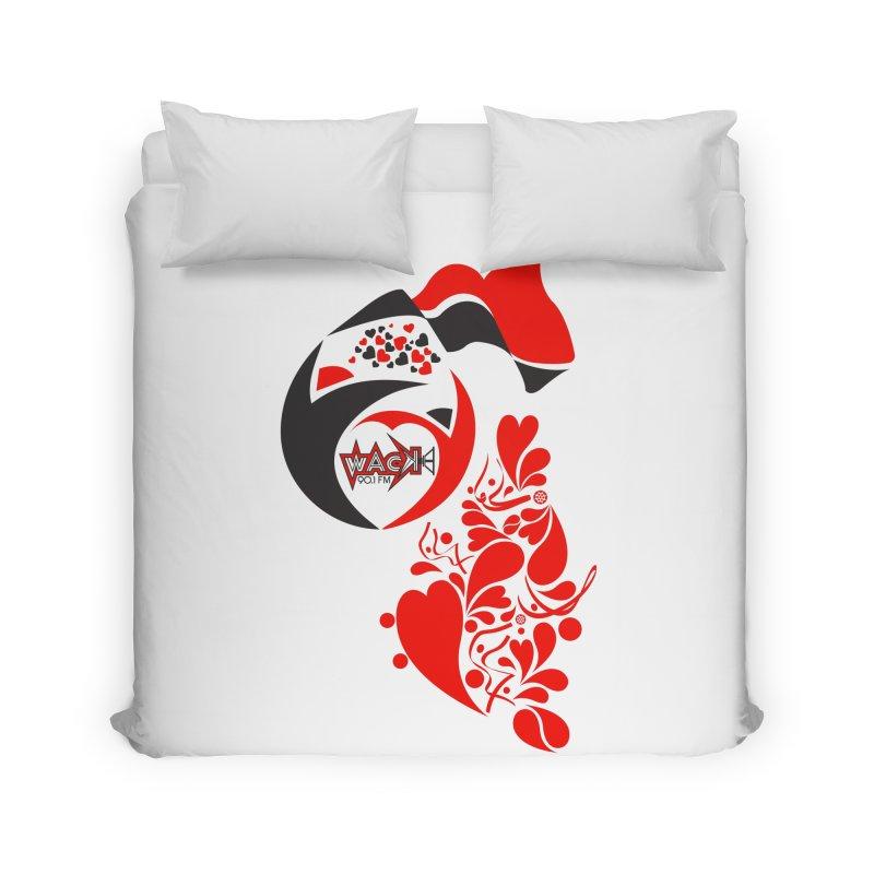 WACK Logo & Hearts no text Home Duvet by WACK 90.1fm Merchandise Store